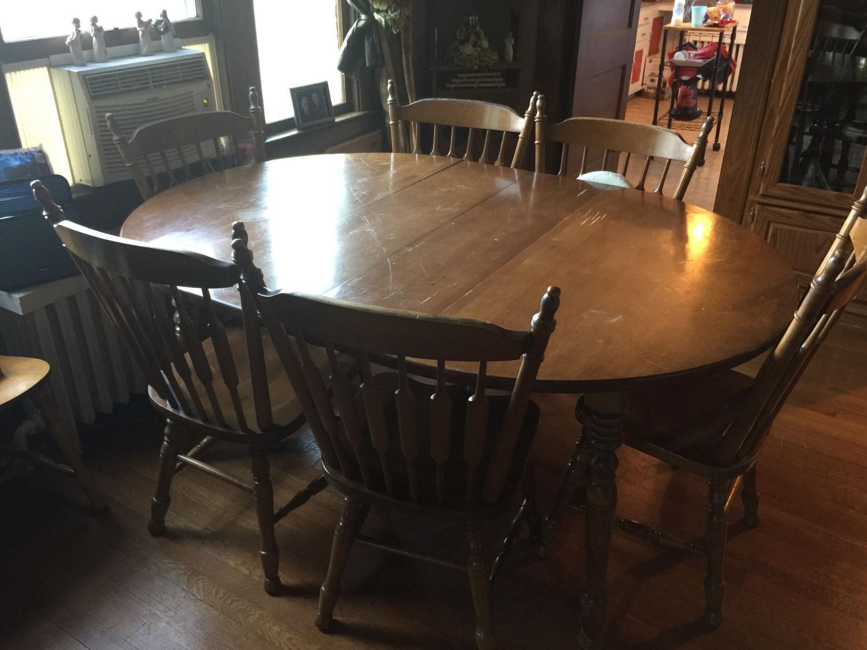 Cochrane Indiana Bay Colony 7 pc dining room set