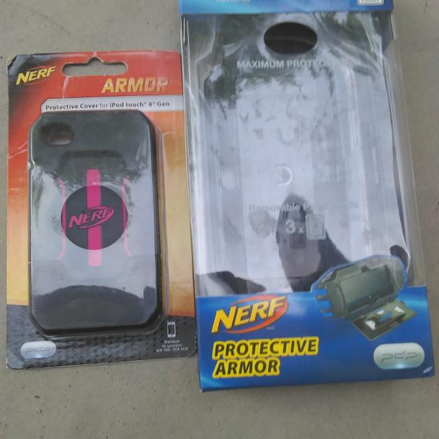Best Nerf Cases One Is Blue For Ps Vita Other Ipod 4 And Pink For