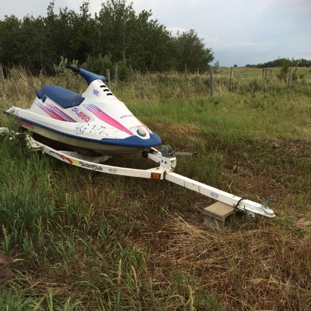 1992 Polaris SL 650 watercraft in running condition  Trailer not included   Posted on other sites no holds