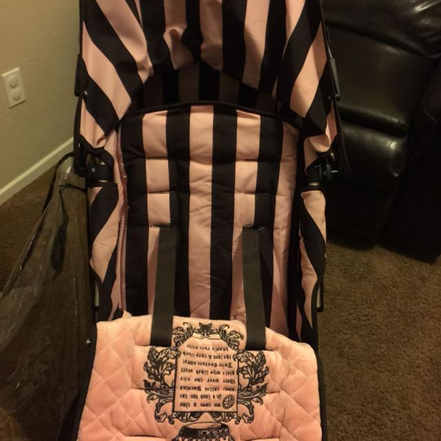 Juicy Couture Stroller Rain Coat And Winter Coat Included