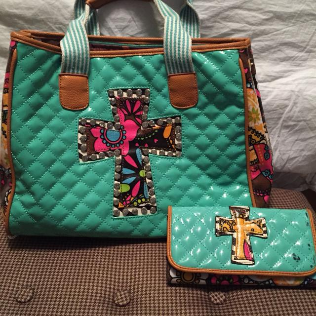 Consuela Inspired Bag And Wallet