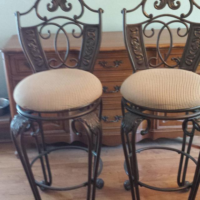 ashley furniture bar stools Find more Ashley Furniture Bar Stools Euc $175 For The Pair* 32  ashley furniture bar stools