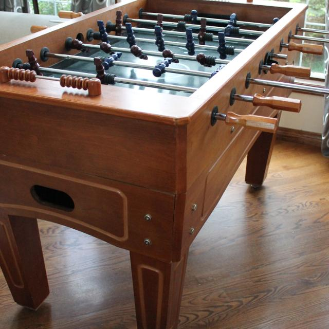 Harvard Foosball Table. Find more Harvard Foosball Table for sale at up to 90  off