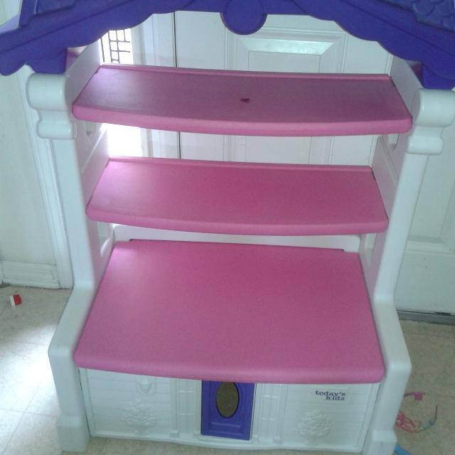 Todays Kids Adorable Bookshelf Toybox