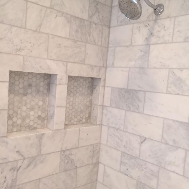 23 Sq Ft Of Honed Carrara Marble Tile 6x12
