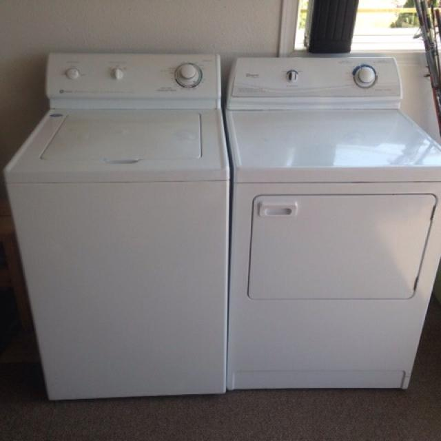 Reduced Maytag Dependable Care Super Capacity Heavy Duty Washer And Dryer Well
