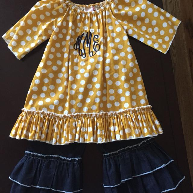 Find More Natalie Grant Mustard Top With Initials Mme Natalie