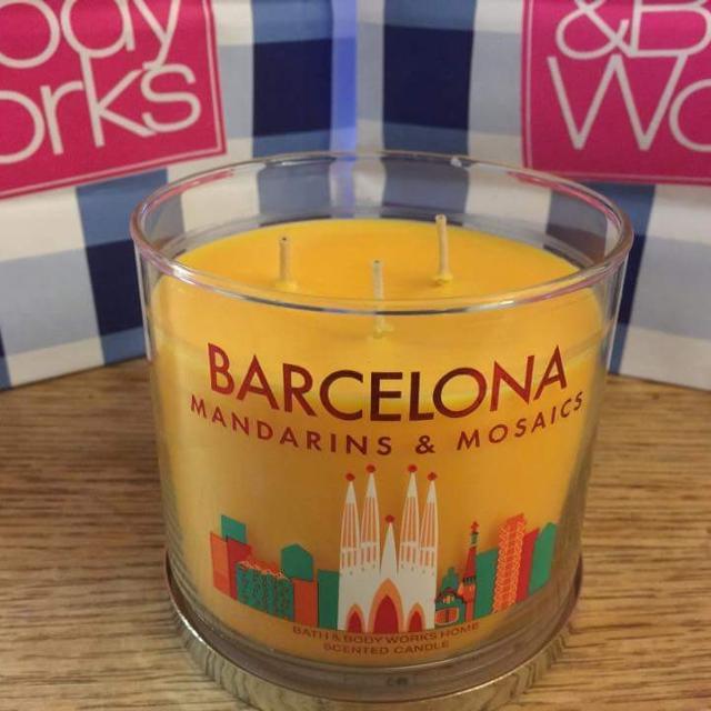 Best Barcelona Bath Body Works 3 Wick 145 Oz Candle Smells Like