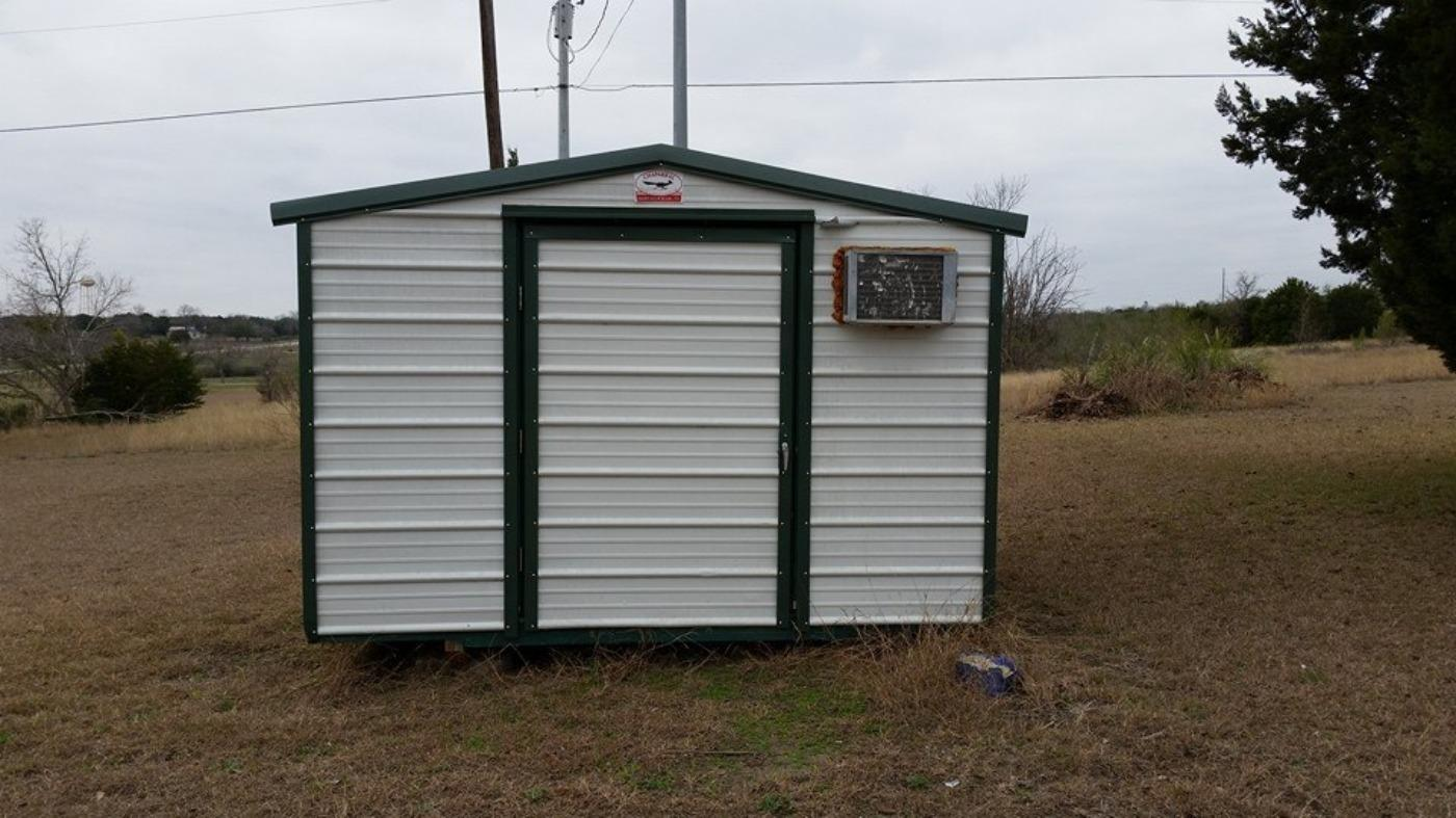 Best Portable Corrugated Steel & Wood Storage Shed ...