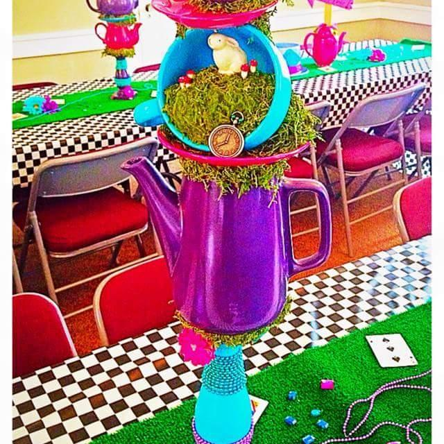 Best Homemade Alice In Wonderland Party Decorations For Sale In