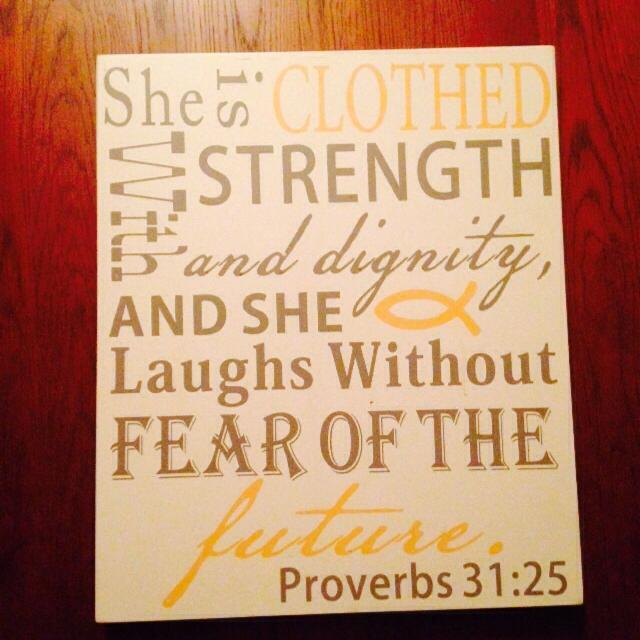 Find more Proverbs 31 Grey And Yellow Wall Decor. Excellent ...