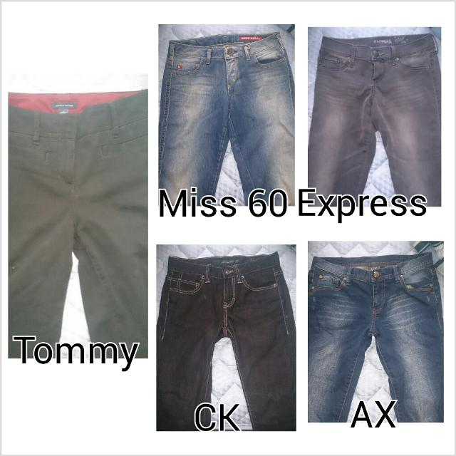 de5ac9408 Best Miss Sixty Calvin Kline Armani Exchange Express Tommy Hilfiger  Designer Jeans Pants Bottom - Size 0 To 4 $5-15 for sale in Markham,  Ontario for 2019