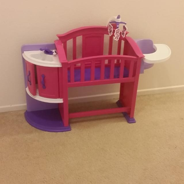 Find More Baby Doll Crib Highchair And Wash Station For Sale At