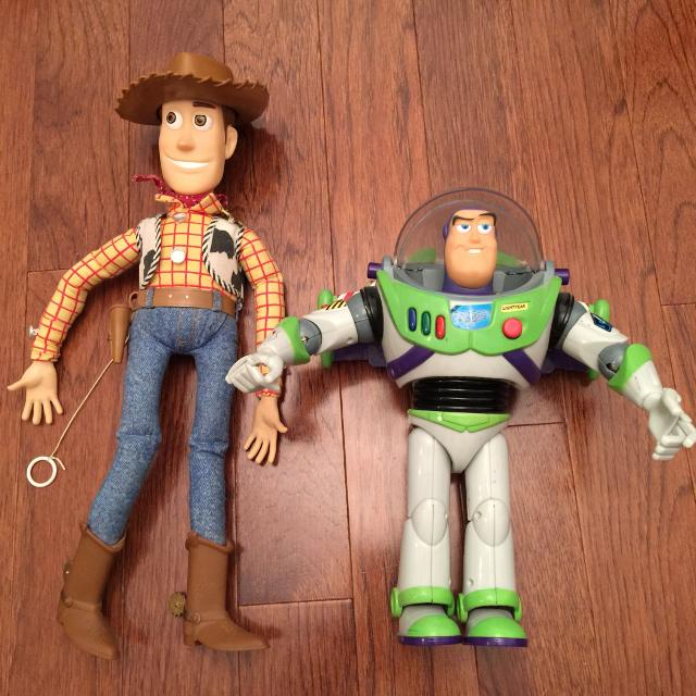 find more thinkway toys disney pixar toy story woody and buzz