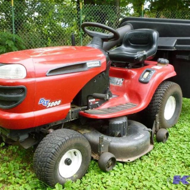 Best Craftsman Dlt 3000 Lawn Tractor With Attachments For Sale In Manchester New Hampshire For 2018