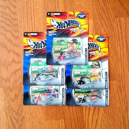 Hot Wheels Nascar Motorcycle x5 for sale  Canada