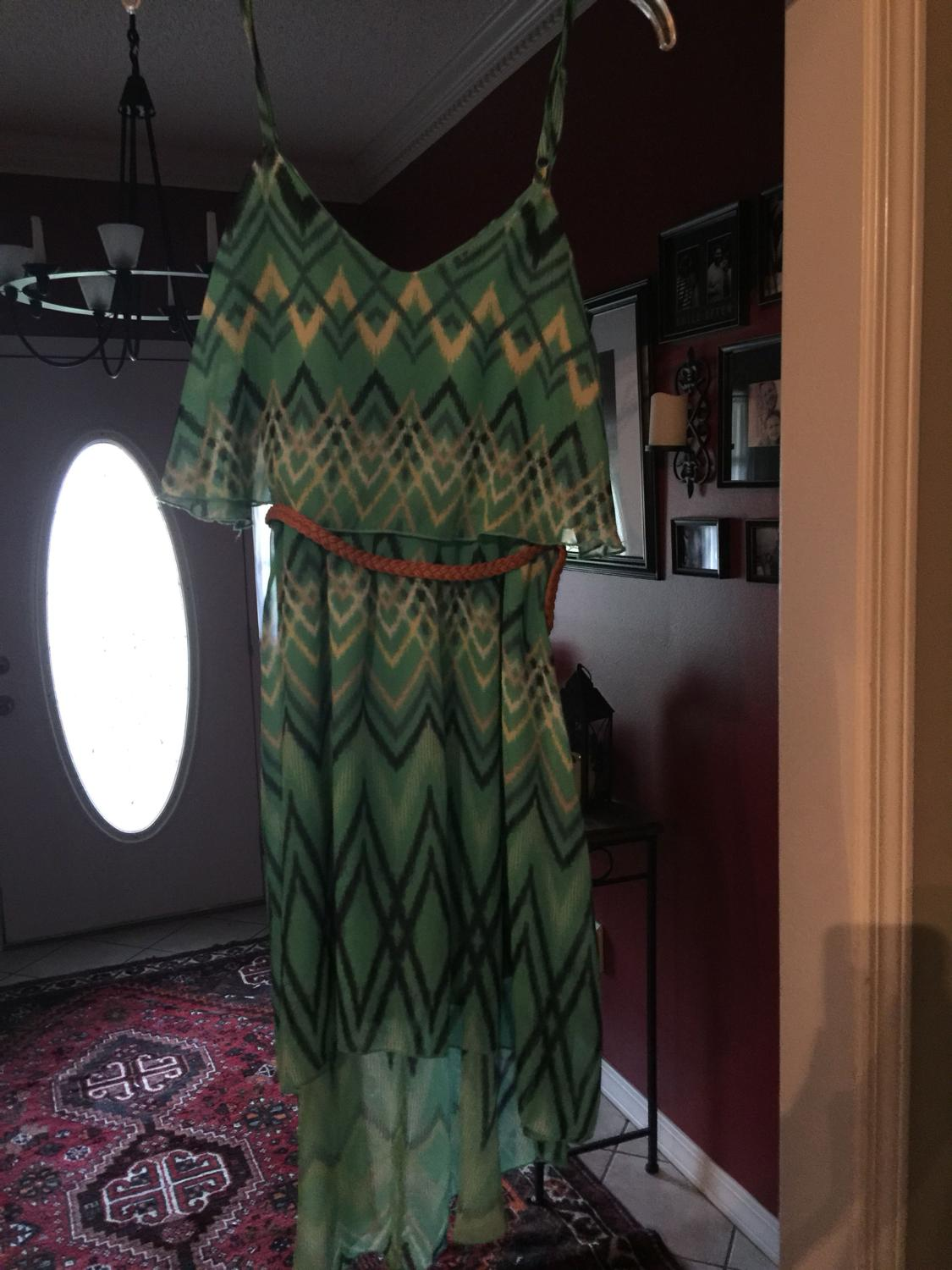 3f039b9402674e Best Hi Low Chevron Lily Rose Brand Dress Worn Once Paid Over $40.00 Asking  $10.00 for sale in Mobile, Alabama for 2019