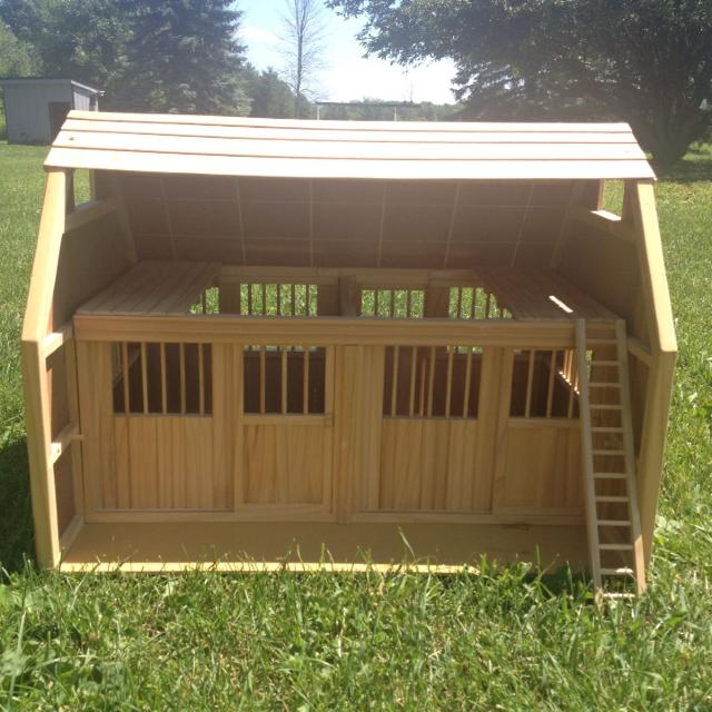 ultimate toys barns farm wooden centre stable breyer horse online the equestrian brushwood stables