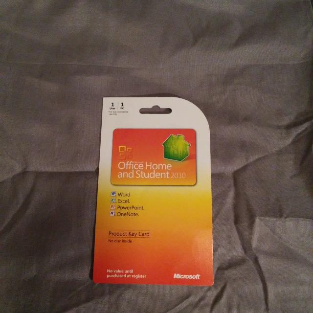 MS Office Home and Student 2010 Product Key,