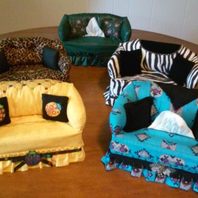 Handmade Sofa Tissue Box Covers Makes A Great Decorative Accent For Your Living Room 20 00 Each