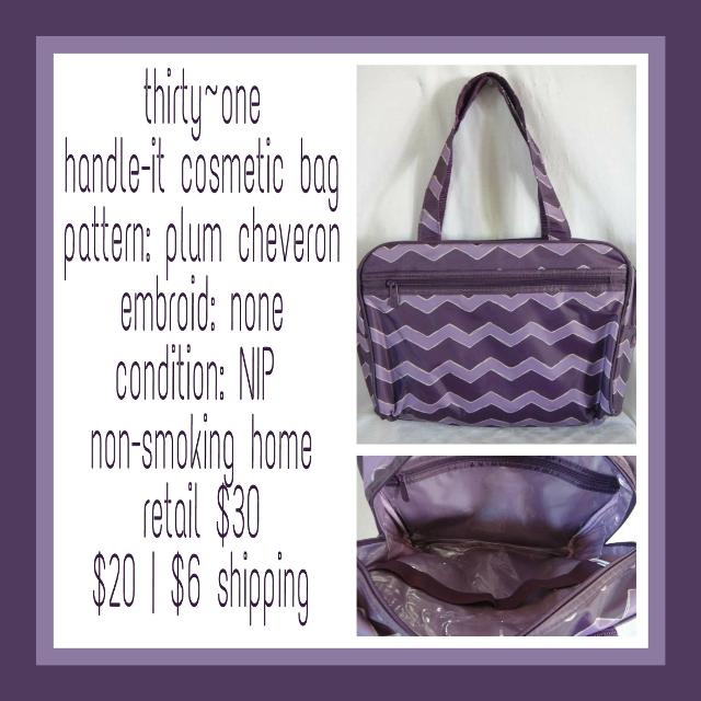 Best Thirty-one Handle It Cosmetic Bag for sale in Bay City ... 9d03d31932e16