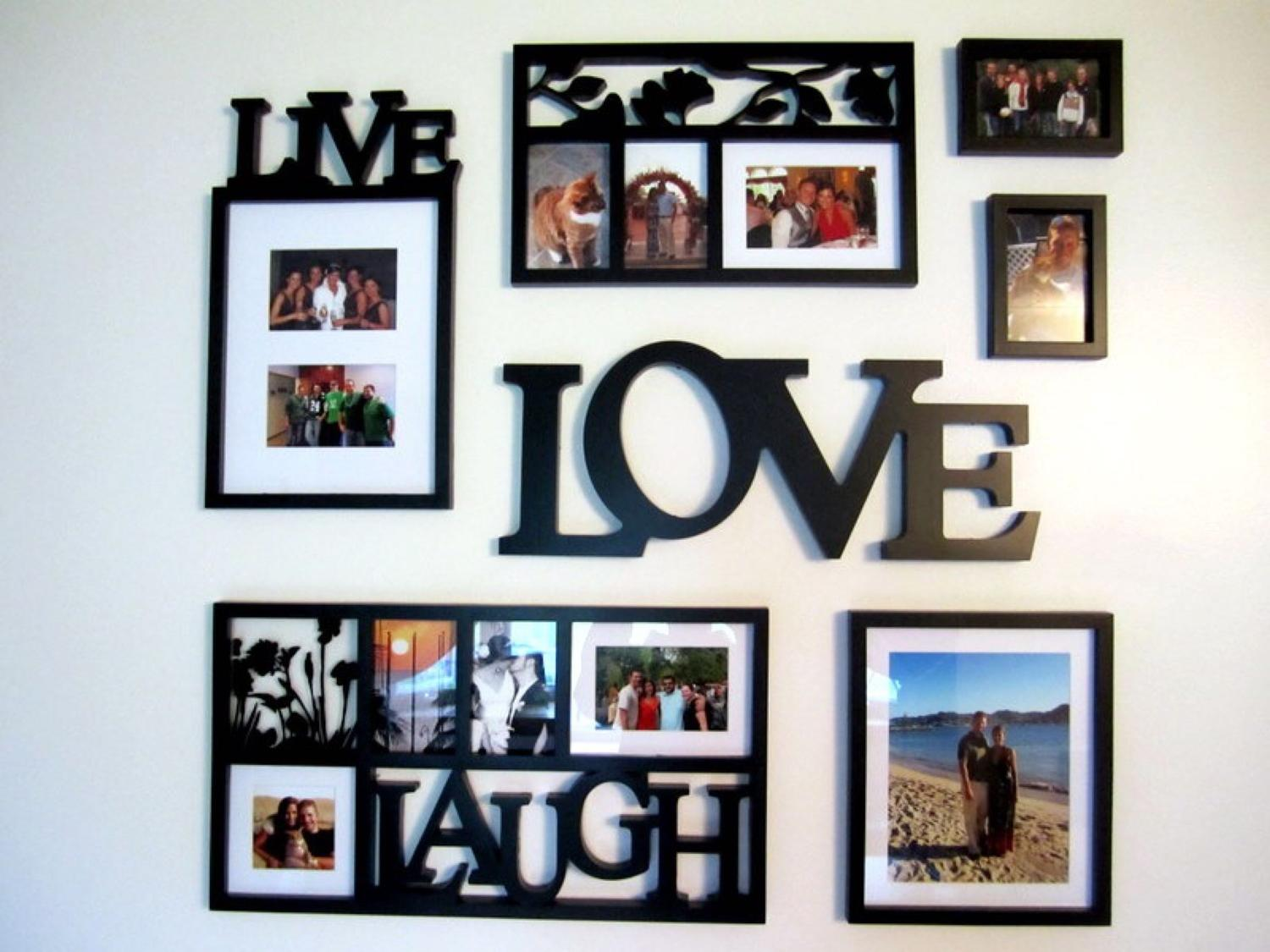 Find More Live Laugh Love Picture Frame Set For Sale At Up To 90 Off