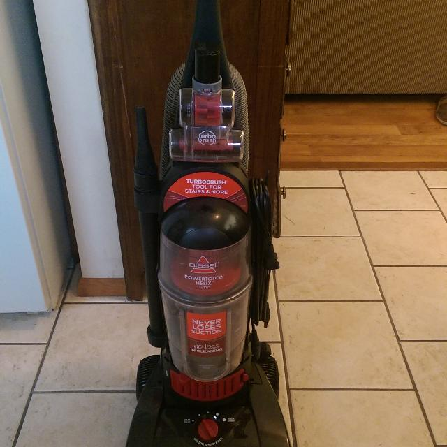 Find More Bissell Powerforce Helix Turbo Vacuum For Sale At Up To 90