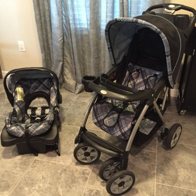Eddie Bauer Stroller And Car Seat Travel System