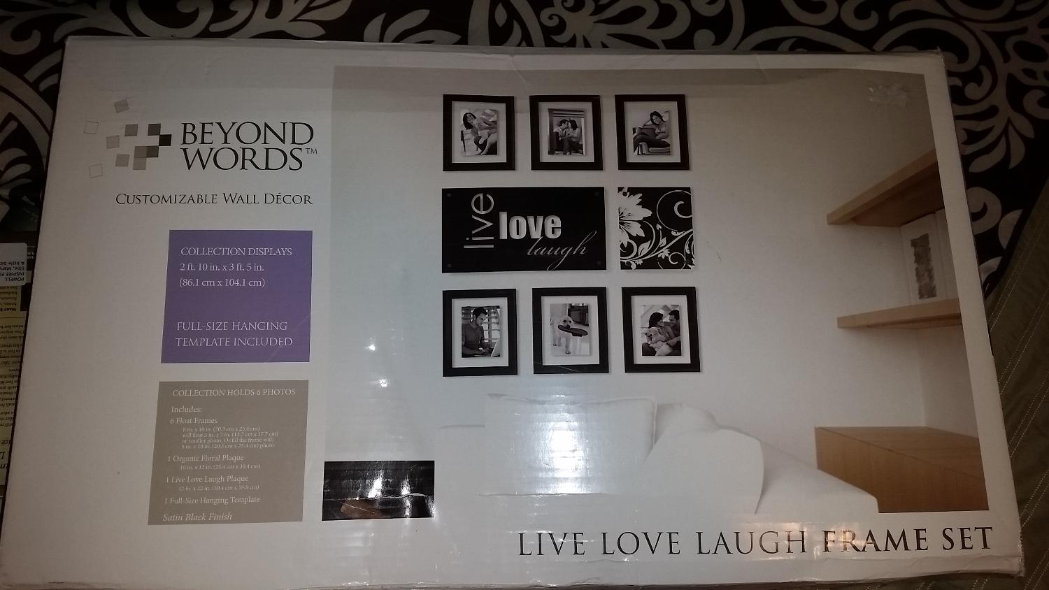 Find more Live Love Laugh Frame Set for sale at up to 90% off