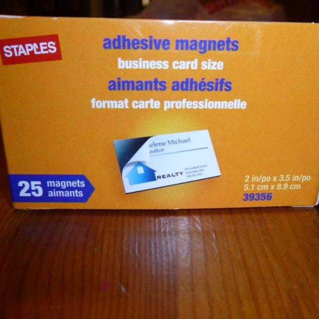 Find more business card magnet 25 magnets for sale at up to 90 off business card magnet 25 magnets reheart Image collections