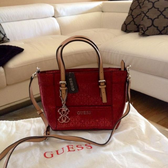 Find more Brand New Guess Mini Tote Bag With Tag for sale at up to ... 3494d1f5b2884