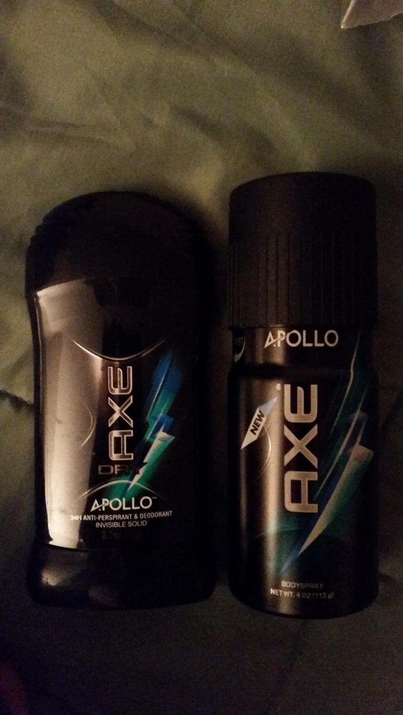 Axe set  Apollo $5 for the set