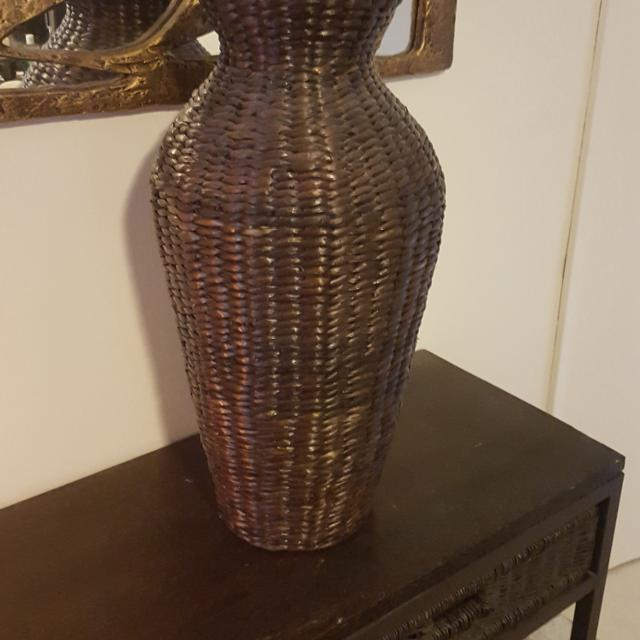 Find More Brown Wicker Floor Vase For Sale At Up To 90 Off