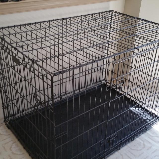 PETCO PREMIUM 2-DOOR 800 SERIES LARGE DOG TRAINING CRATE / KENNEL  Original  box  P/U Topton