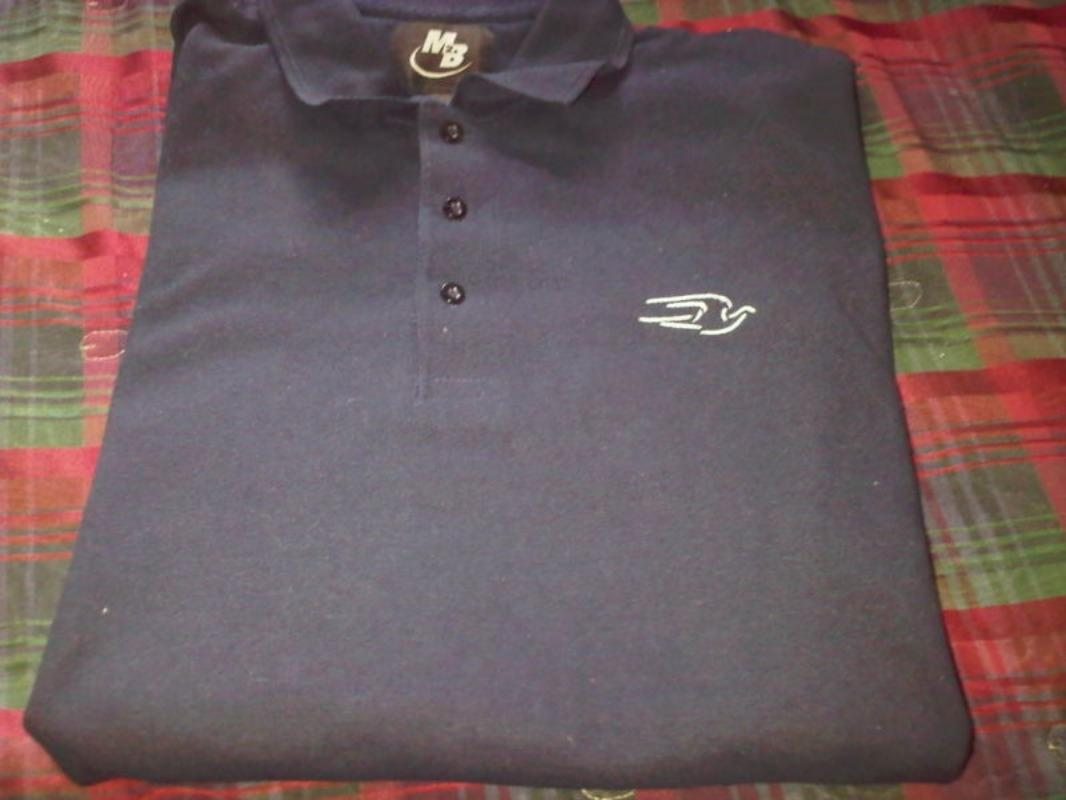 Find More School Bus Blue Bird Logo Polo Shirt For Sale At Up To 90