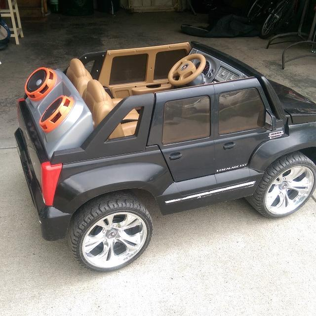Find More Power Wheels Cadillac Escalade For Sale At Up To