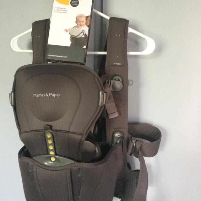 eb16e4cbdc5 Find more Mamas And Papas Morph Baby Carrier New Price for sale at ...