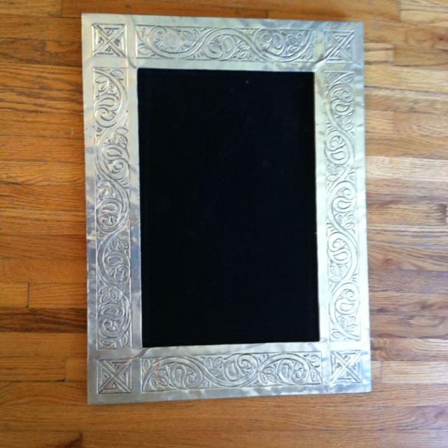 Find more Pressed Tin Frame With Felt Backing - Good Diy Project 24 ...