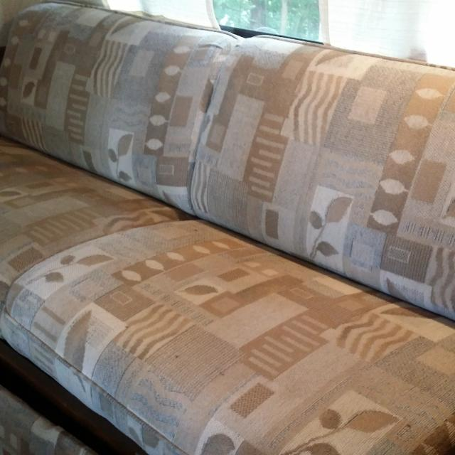 Best Rv Camper Jack Knife Sofa And Matching Dinette Cushions For