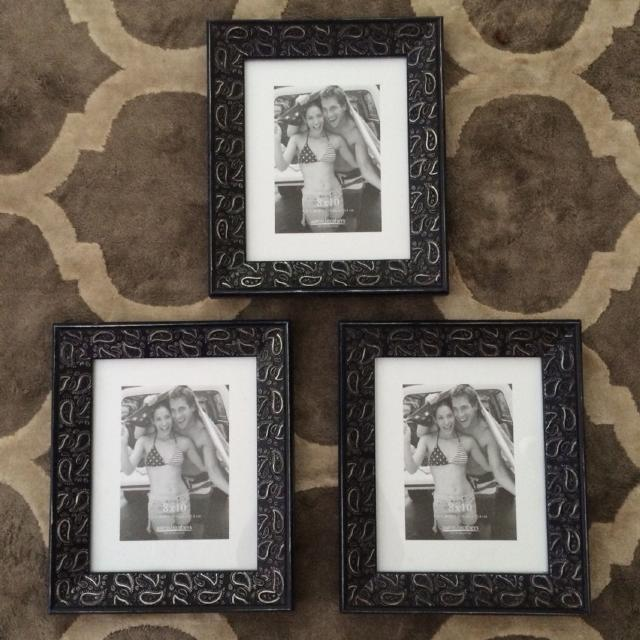 Find More Aaron Brothers 8 X 10 Navy Blue Paisley Frame 1 Available
