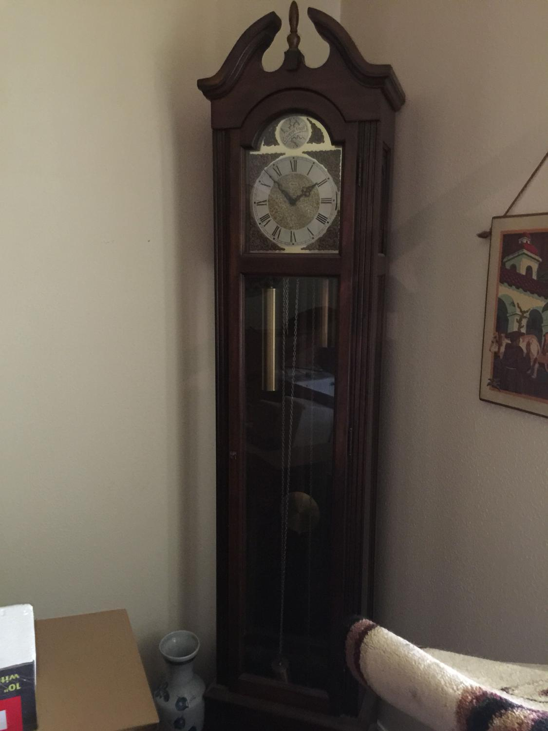 Best antique tempus fugit grandfather clock for sale amipublicfo Image collections