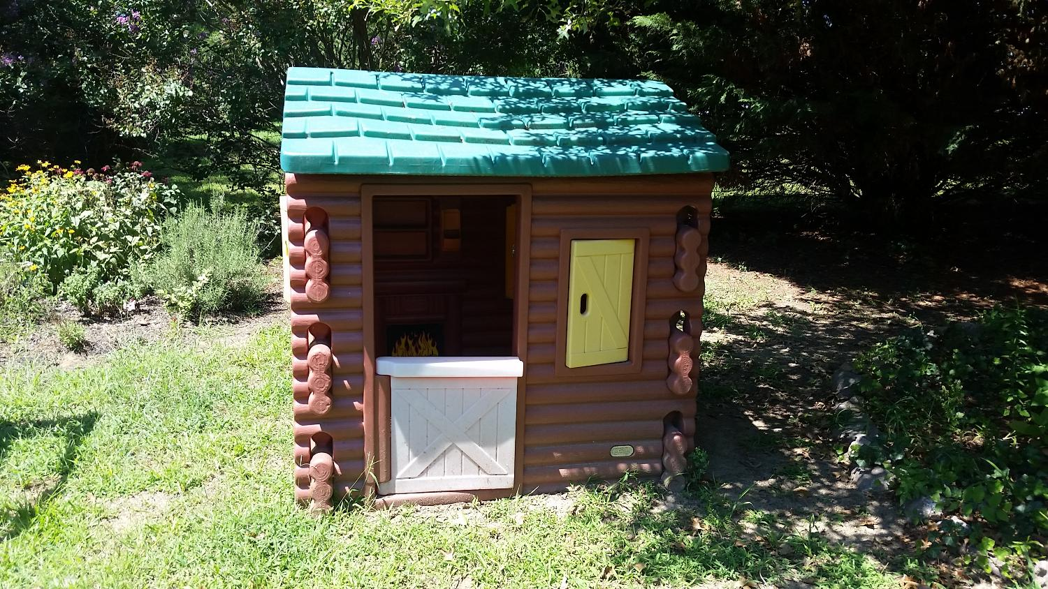 Find More Price Reduced Fisher Price Log Cabin Playhouse Good