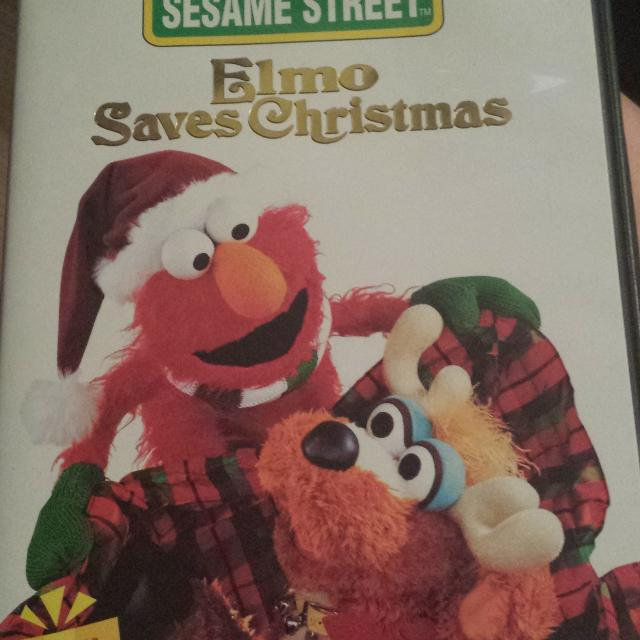 sesame street elmo saves christmas dvd 1 - Sesame Street Elmo Saves Christmas