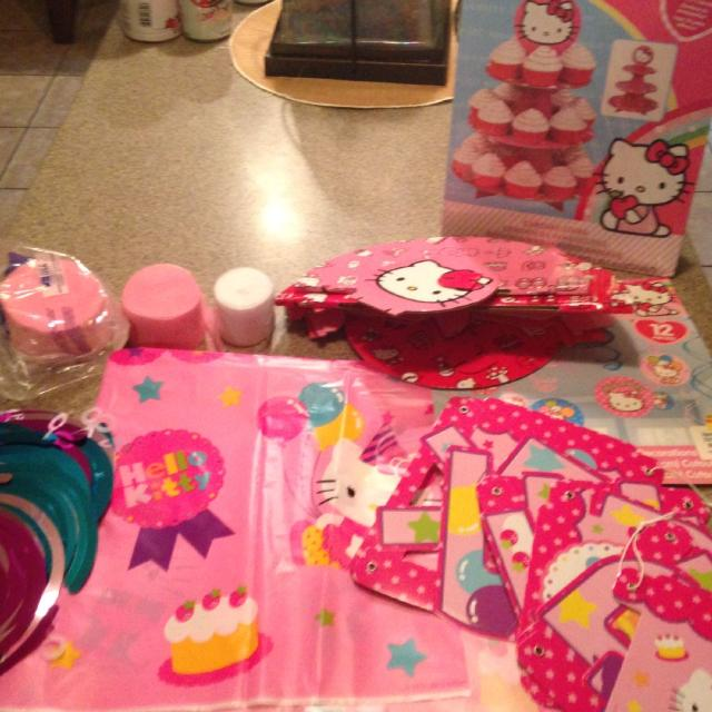 Find More Hello Kitty Party Decorations Includes Cupcake Stand