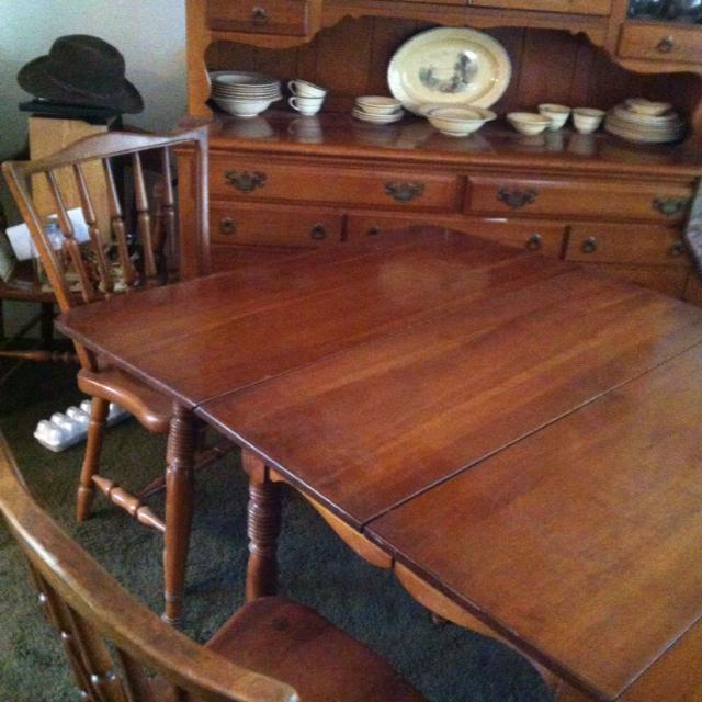 Best Antique Cherry Wood Dining Table For Sale In El Dorado County California For 2021