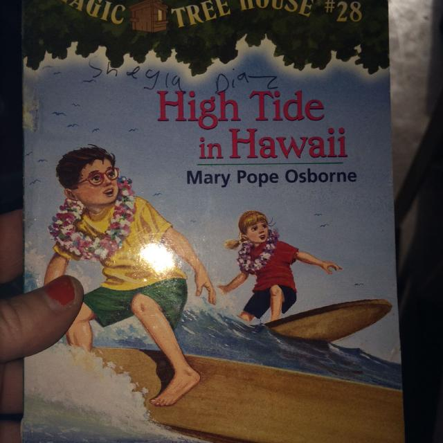 Find More Magic Tree House High Tide In Hawaii Book For Sale At Up