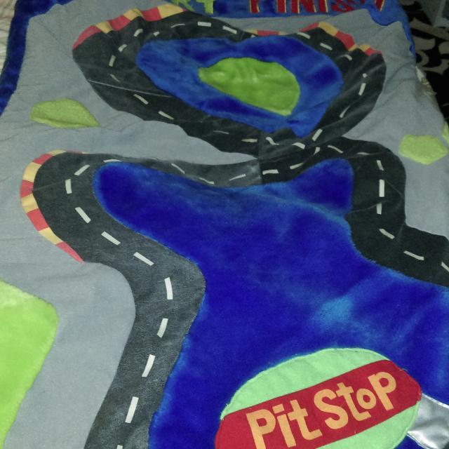 Boys Race Car Sleeping Bag