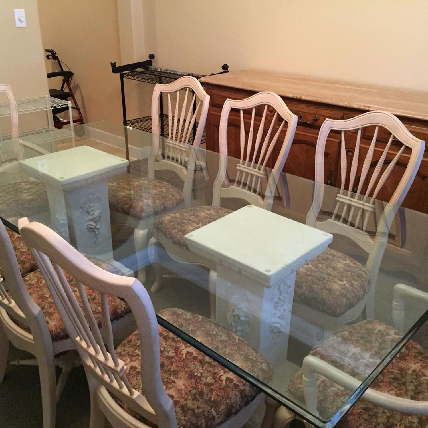 Best Price Decrease Formal Dining Table And Chairs Movers Required Cross Posted Other Houston Area Communities Craigslist For Sale In Katy Texas For 2021