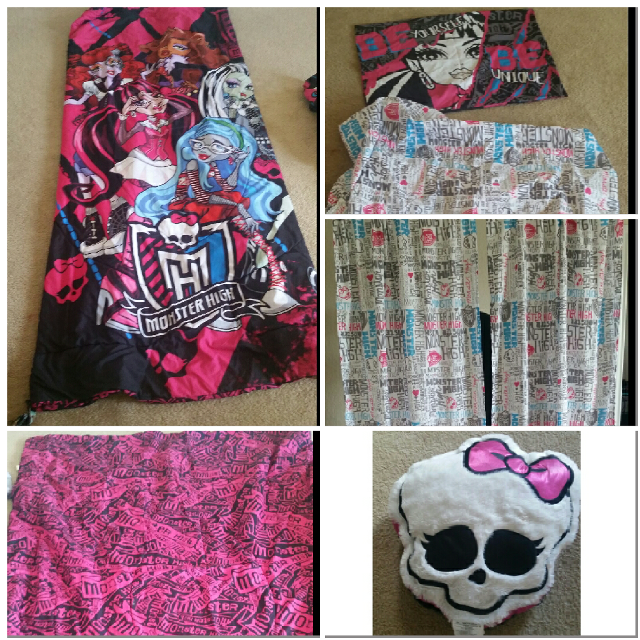 Best Twin Size Monster High Bedding Set for sale in Potranco Road ...