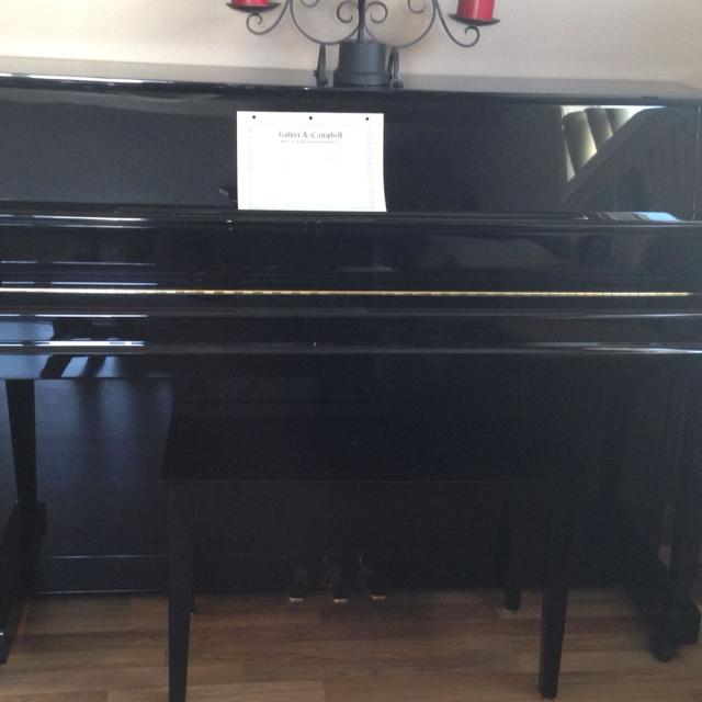Find more Beautiful Ebony Upright Piano Price Reduced! for sale at